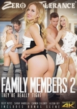 裏DVD ZERO TOLERANCE FAMILY MEMBERS 2